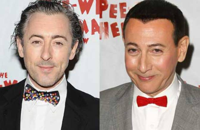 Alan Cumming and Pee Wee Herman