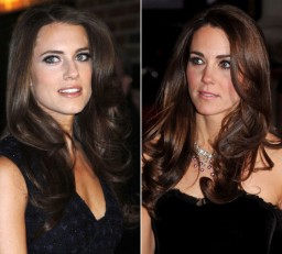 Allison Williams and Kate Middleton