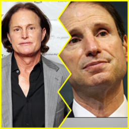 Bruce Jenner and Senator Ron Wyden