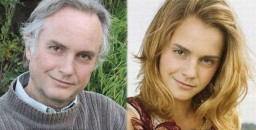 Richard Dawkins and Emma Watson