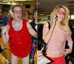 Richard Simmons and Mischa Barton