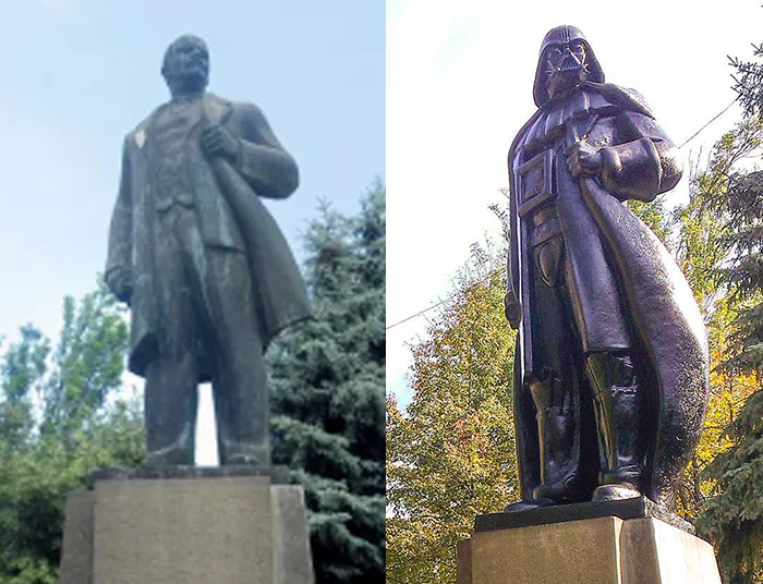 Lenin and Darth Vader